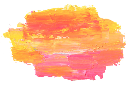 Abstract acrylic and watercolor painted background. Isolated. Stock Photo