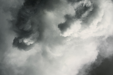storm background: abstract smoke storm sky background Stock Photo