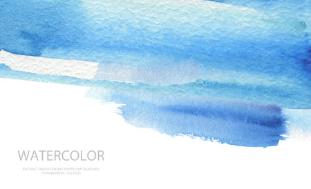 cutaway drawing: Abstract watercolor brush strokes painted background. Texture paper. Isolated. Business card template.