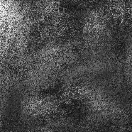 Abstract textured acrylic and oil pastel hand painted background. Black and white. Paper texture.