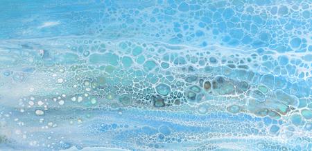 Marmeren textuur. Acrylverf. Kleurrijke vlekken. Abstracte achtergrond. Stockfoto