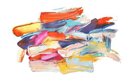 Art Abstract acrylic and watercolor painting. Color texture background. Reklamní fotografie