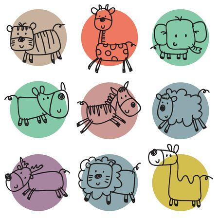 funny animal: Funny Animal Pattern