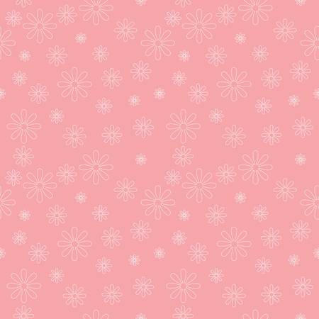 flowers pattern background, seamless vector