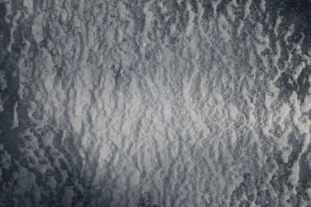 expressive and porous texture of ice and snow, with a slight cold tint