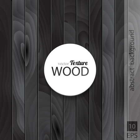 grained: Wooden dark black texture illustration background