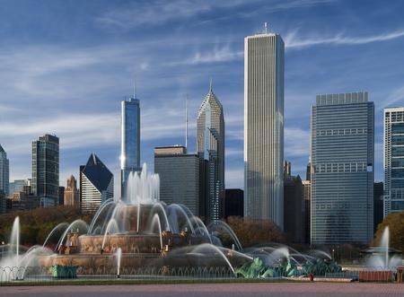 Buckingham Fountain, Chicago.