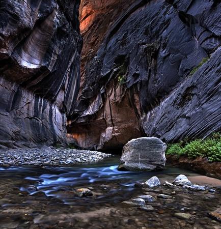 Zion National Park, Narrows Stock Photo - 8613540