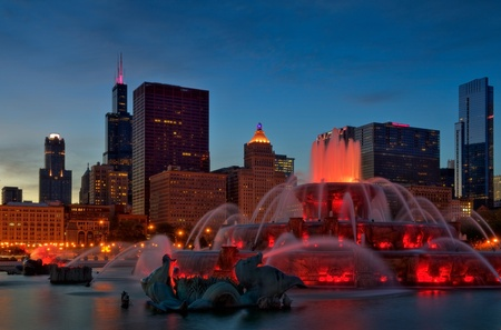 Buckingham Fountain Stock Photo - 8679604