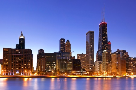 chicago skyline: Chicago skyline