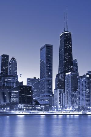 rascacielos: Chicago, edificio de Hancock