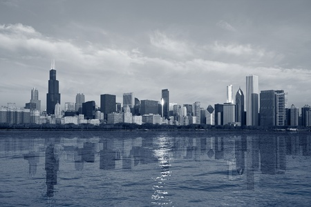 Chicago Skyline. photo