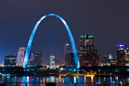 gateway arch: City of St. Louis Editorial