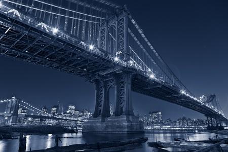 Manhattan Bridge, New York City. photo