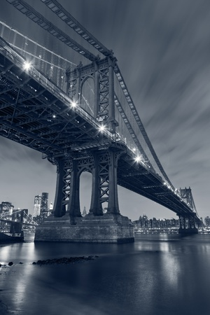 Manhattan Bridge, New York City. photo