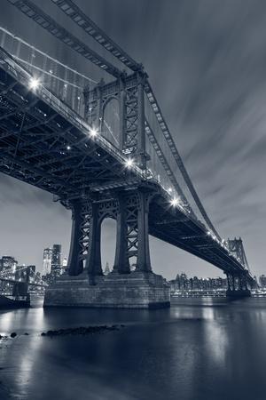 new york: Manhattan Bridge, New York City.