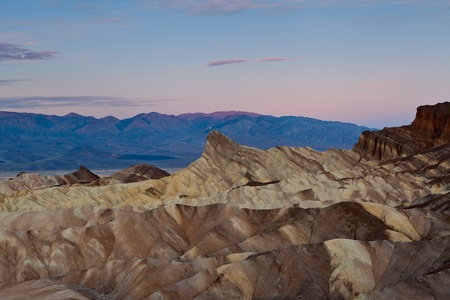 Zabriskie Point. Image of Zabriskie Point in Death Valley National Park, California, USA.  Stock Photo - 12693081