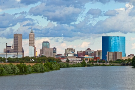 indianapolis: Indianapolis skyline.