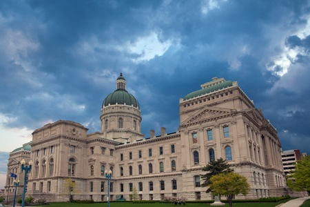 indianapolis: Indiana Capitol Building.