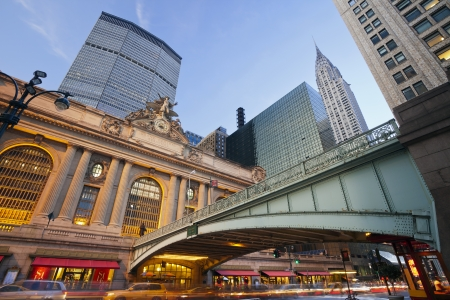 Grand Central Terminal. Image of the Grand Central Terminal and 42nd. street in Manhattan, New York City.