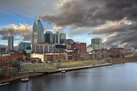 Nashville. Image of Nashville, Tennessee in morning light.