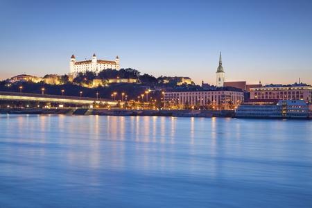 Bratislava, Slovakia  Image of Bratislava, the capital city of Slovakia Stock Photo - 117370633