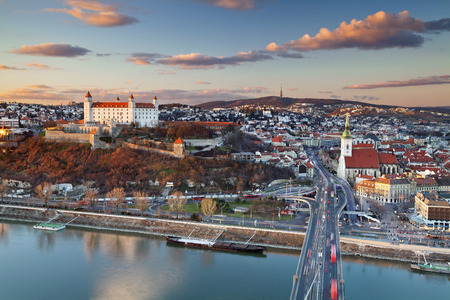 Bratislava, Slowakei Bild von Bratislava, der Hauptstadt der Slowakei