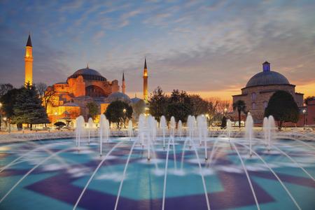 sophia: Istanbul. Image of Hagia Sophia in Istanbul, Turkey.