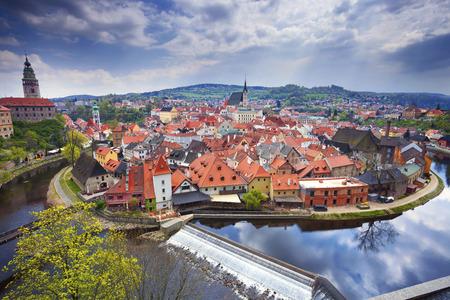 czech culture: Cesky Kromlov, Czech Republic. Image of Cesky Krumov and Krumlov Castle.
