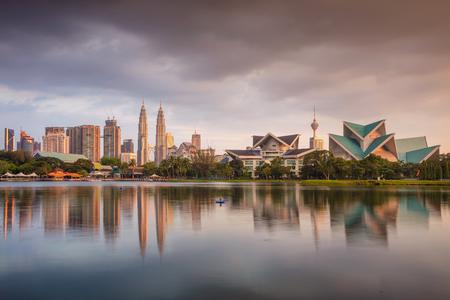 Kuala Lumpur. Cityscape image of Kuala Lumpur skyline during sunset.