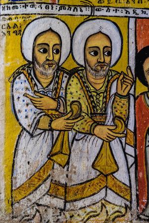 Ethiopia. Zege Peninsula in Lake Tana. Ura Kidane Mehret Church