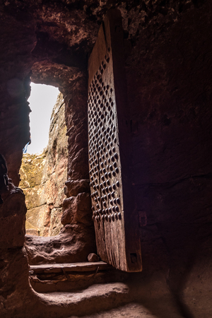 The Church of Gabriel-Rufael - Bete Gabriel-Rufael - in Lalibela, Ethiopia