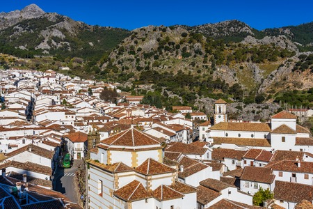 Grazalema, white village in the province of Cadiz, Andalusia, Spain 写真素材