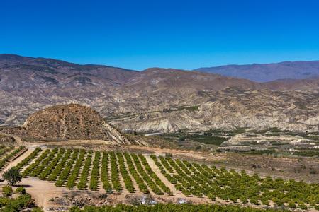 Huecija in La Alpujarra Granadina, Sierra Nevada, Spain.