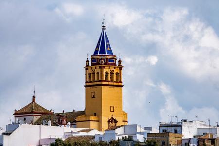Church Nuestra Senora in El Coronil, Andalusia, Spain