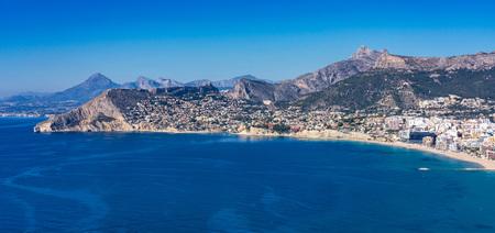 Mediterranes Resort Calpe in der Nähe von Valencia Costa Blanca Spanien