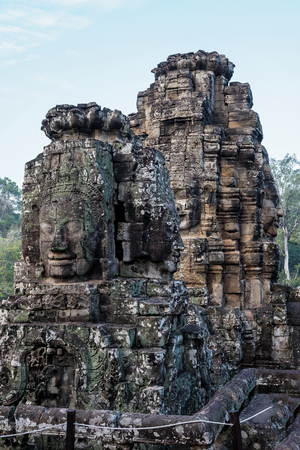 Angkor Wat is a temple complex in Cambodia and the largest religious monument in the world. Siem Reap, Cambodia. 免版税图像