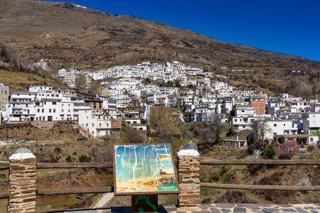 Trevelez in La Alpujarra Granadina, Sierra Nevada, Spain.