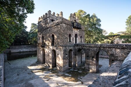 Baths of Fasiladas, place where the celebration of the Epiphany is celebrated annually. Gondar, Ethiopia