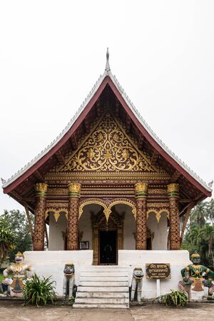 The Wat Aham temple - Monastery of the Opened Heart - in Luang Prabang, Laos.