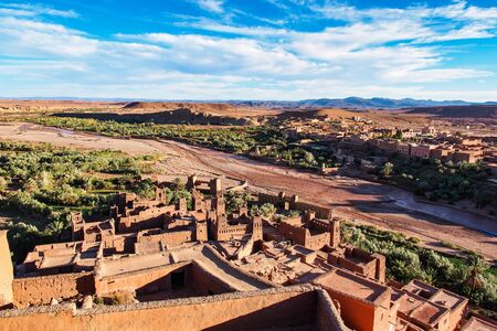 Ait Ben Haddou or Ait Benhaddou is a fortified city near ouarzazate in Morocco. Ait Ben Haddou is a great example of earthen clay architecture.