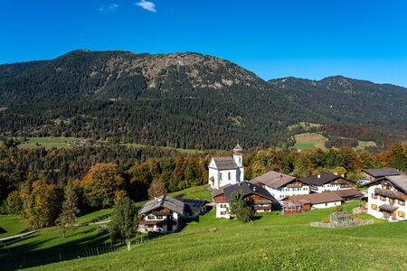Wamberg is Germany s highest-altitude village. The idyllic village has 27 inhabitants and its own church from the 1700s.