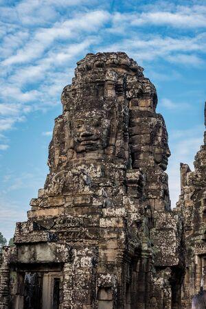 Angkor Wat is a temple complex in Siem Reap, Cambodia. Banco de Imagens