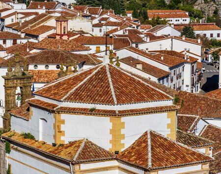 Grazalema, white village in the province of Cadiz, Andalusia, Spain Stockfoto
