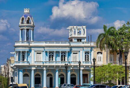 Colonial architecture gazebo in the Jose Marti Park