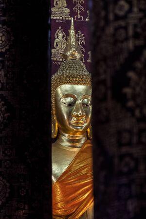 Wat Sensoukharam in Luang Prabang. The temple is one of the major monasteries in Luang Prabang.