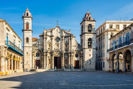 The Cathedral of the Virgin Mary of the Immaculate Conception in Havana, Cuba