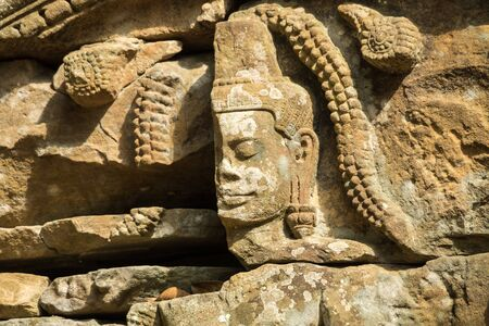 Ta Som temple in Angkor Wat complex, Cambodia, Asia 版權商用圖片