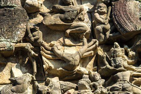 Banteay Samre, a temple at Angkor, Cambodia.