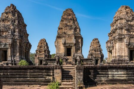 East Mebon temple in the Angkor Wat complex in Siem Reap, Cambodia. 版權商用圖片